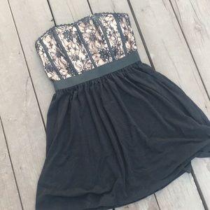 ELLE bustier strapless dress!